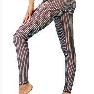 Teeki Dust & Gold Hot Yoga Pants